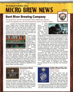 Craft Beer Club Newsletter Example